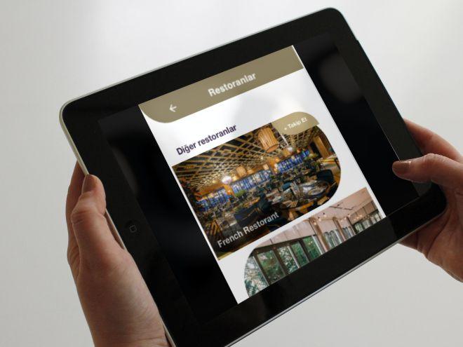 ici4SelfService mobil otel yönetim sistemi