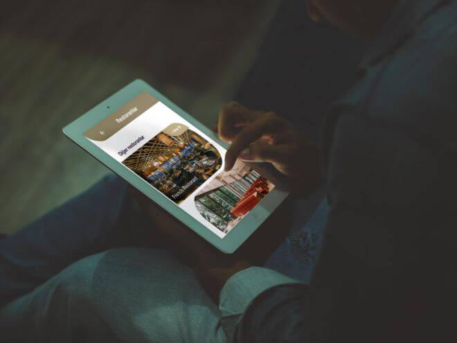 ici4inRoom  mobil otel yönetim sistemi