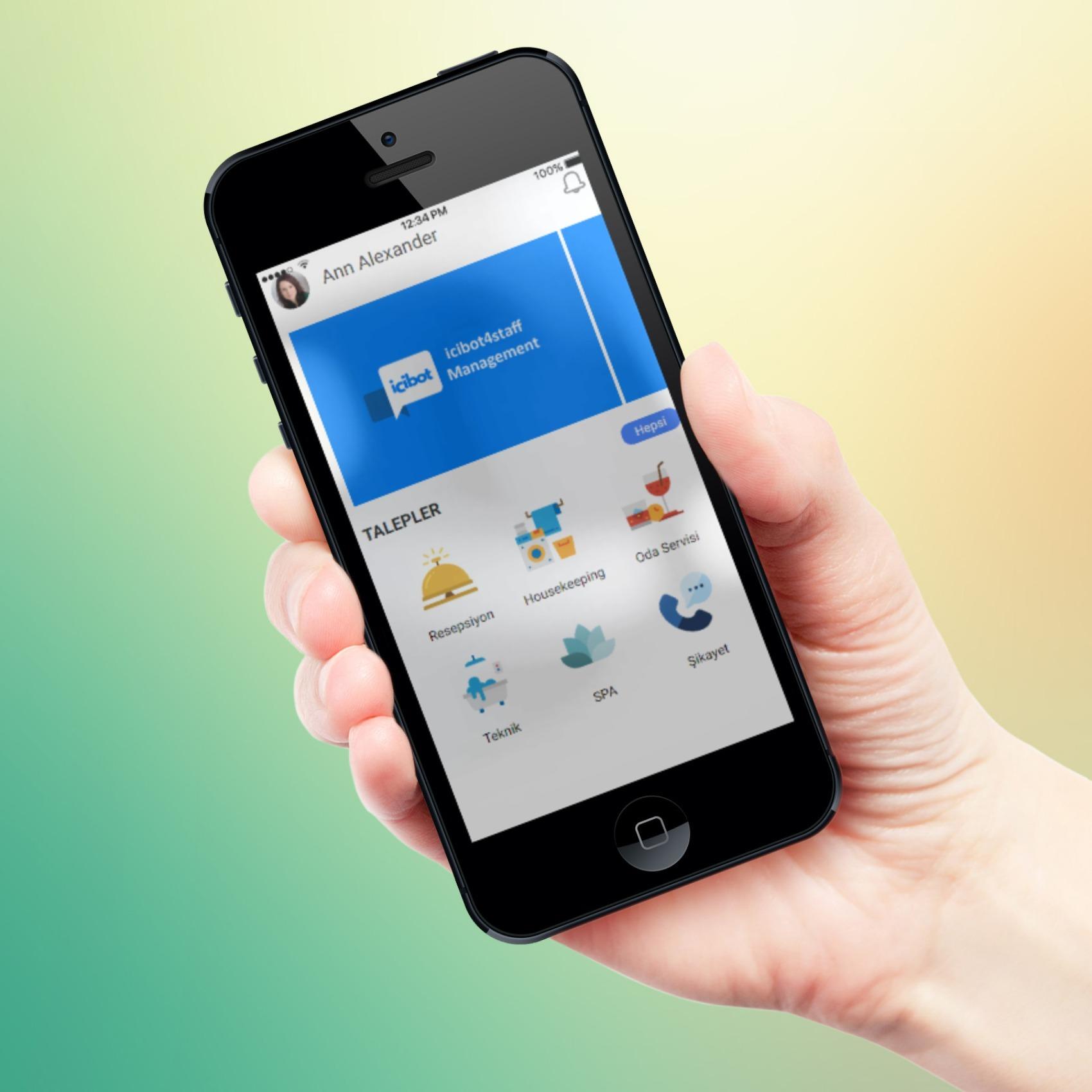 Teknik Servis mobil otel yönetim sistemi