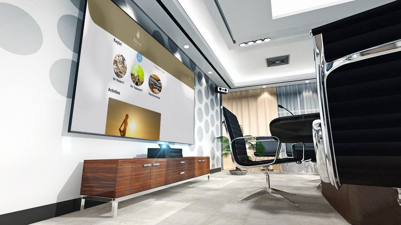 Kiosk ve Akıllı Ekranlar mobil otel yönetim sistemi