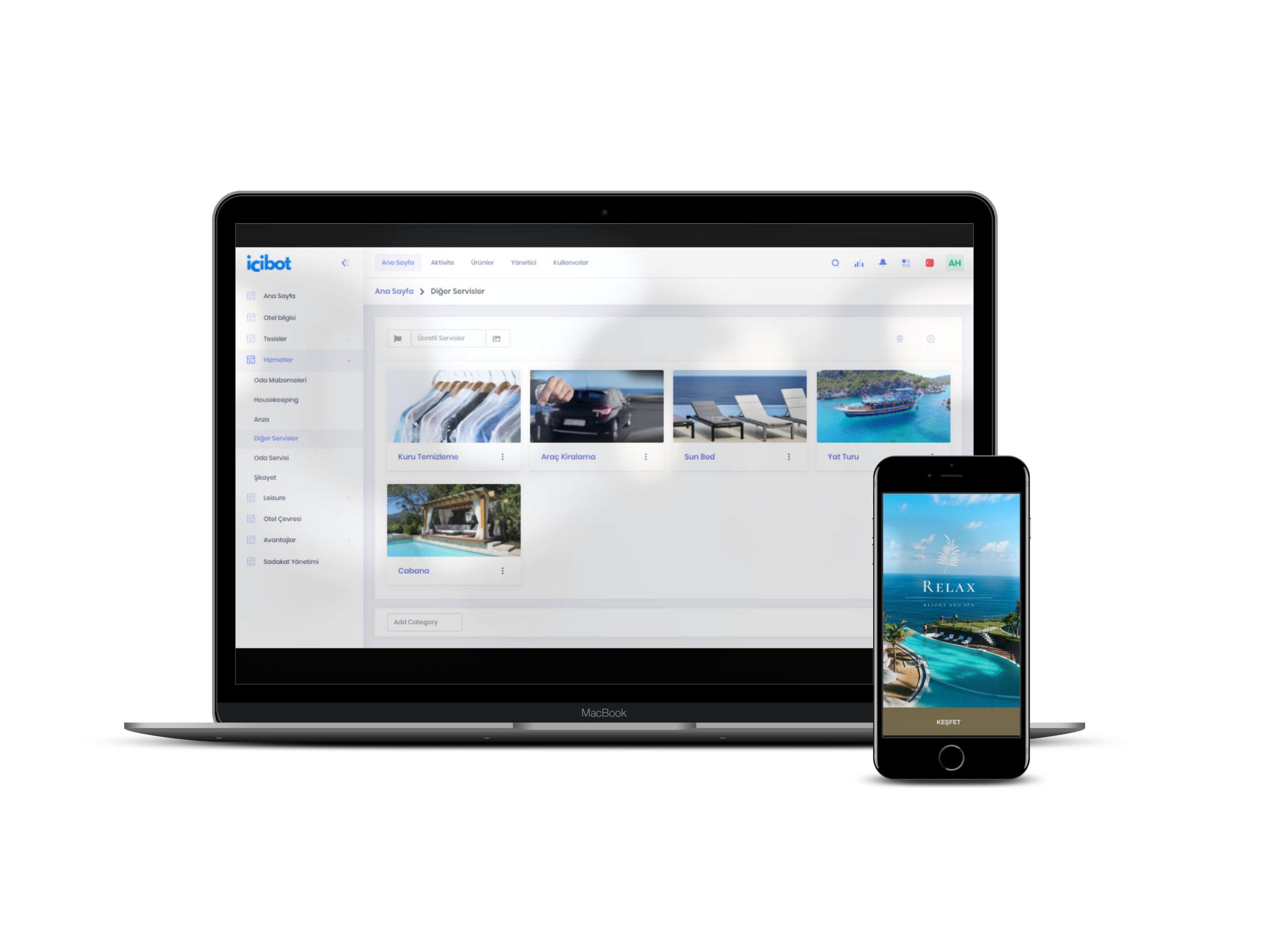 Misafir Deneyim Merkezi mobil otel yönetim sistemi