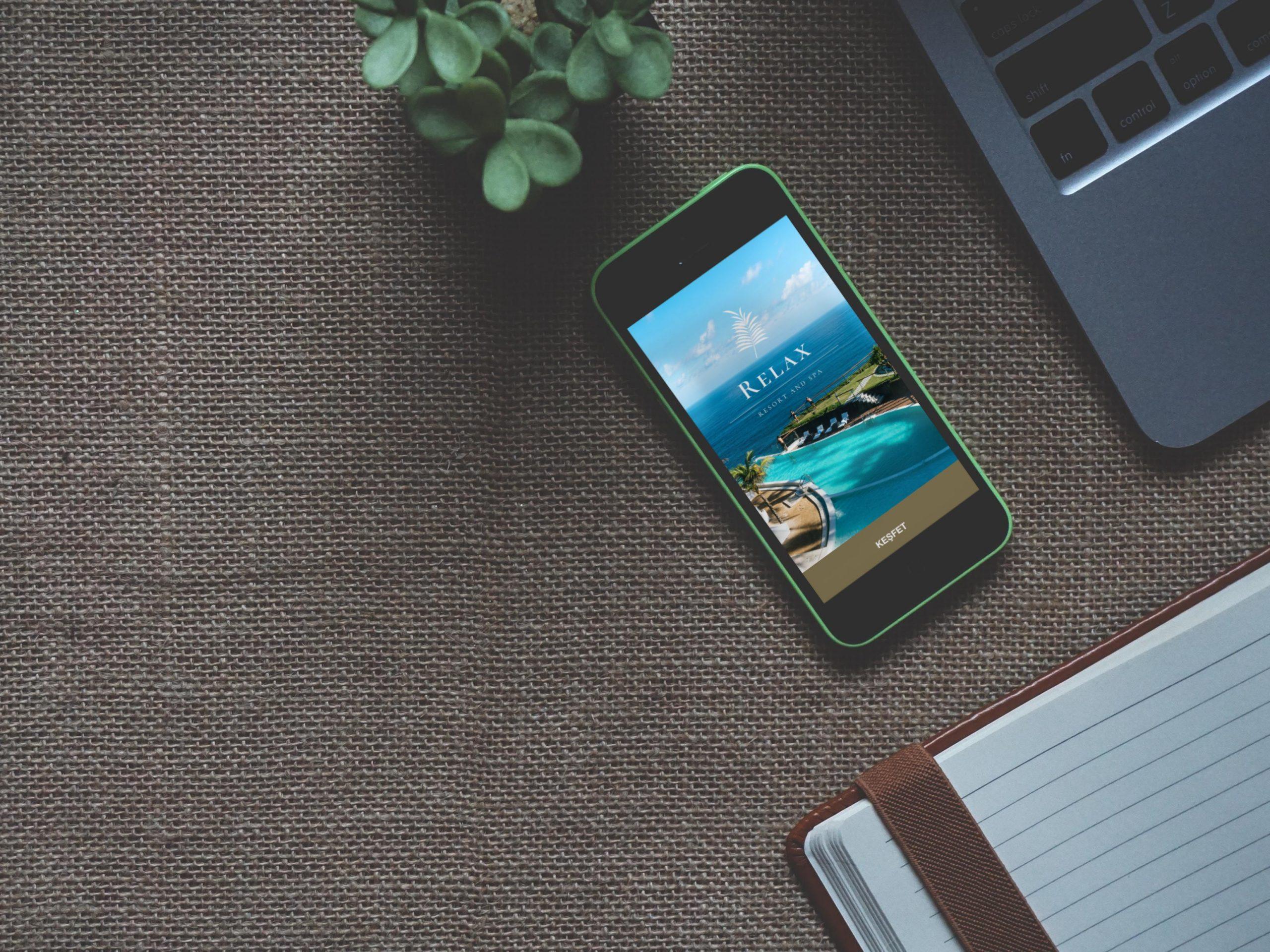 Oda Malzemeleri mobil otel yönetim sistemi