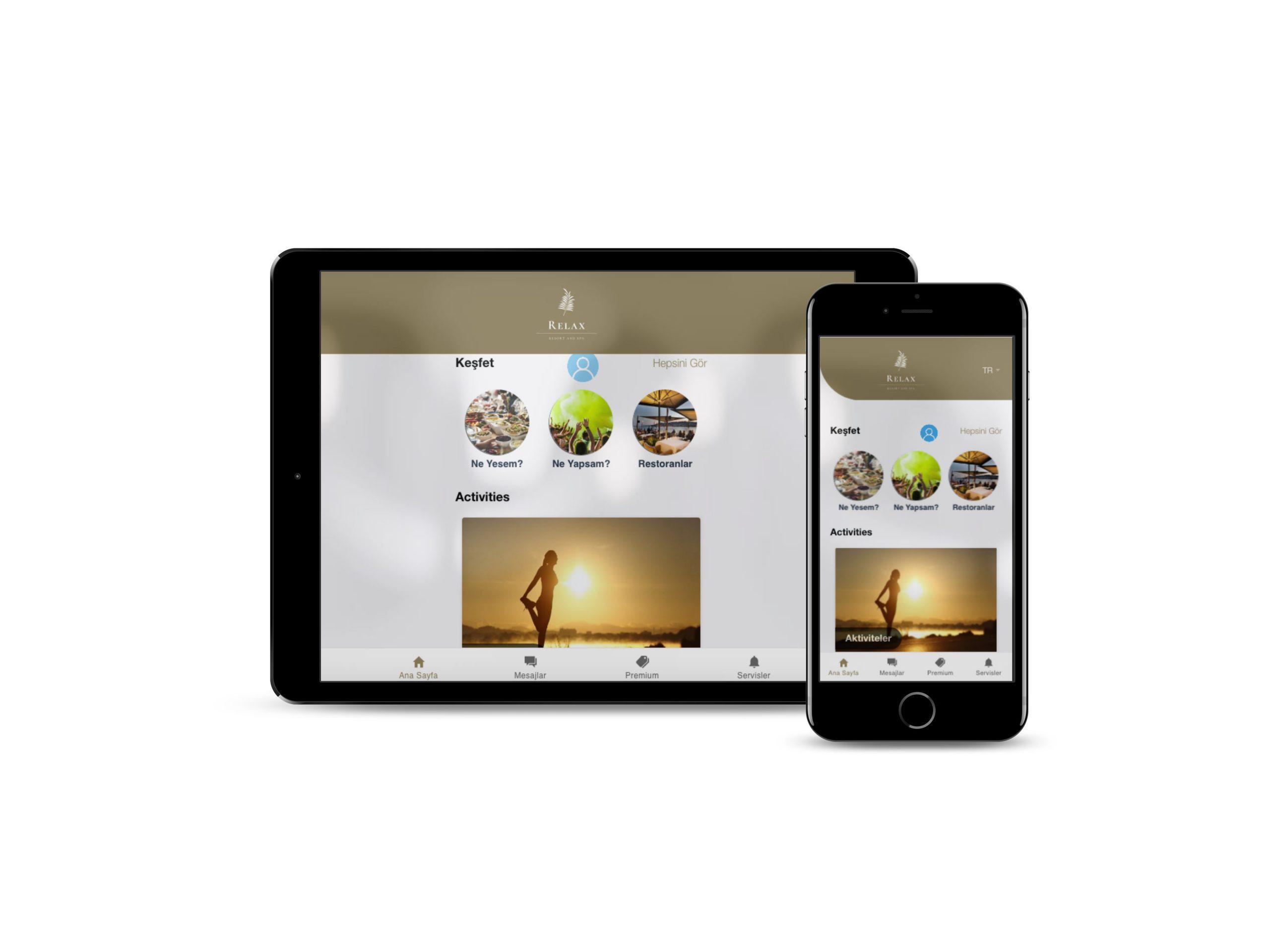 IOS Desteği  mobil otel yönetim sistemi