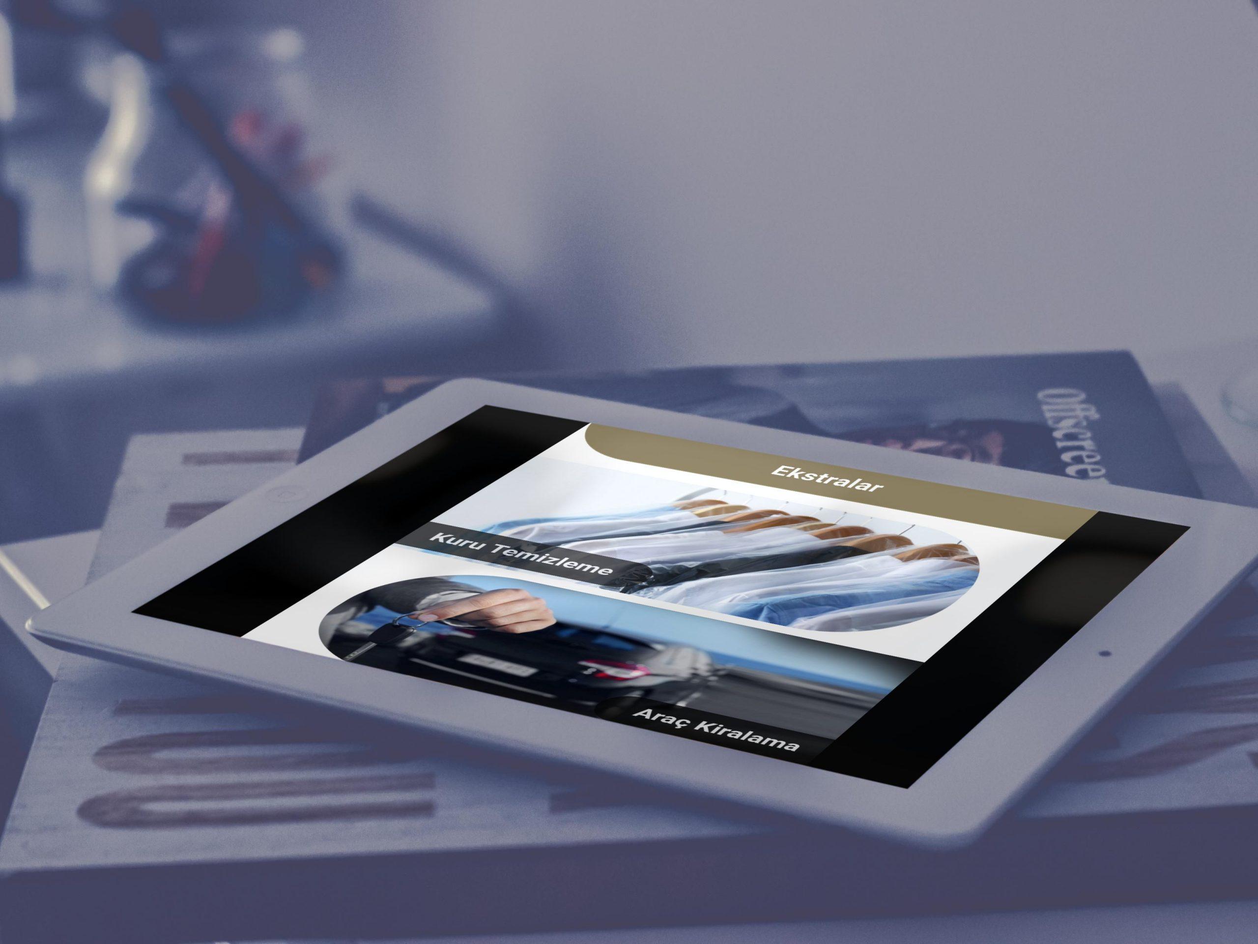 Barlar mobil otel yönetim sistemi