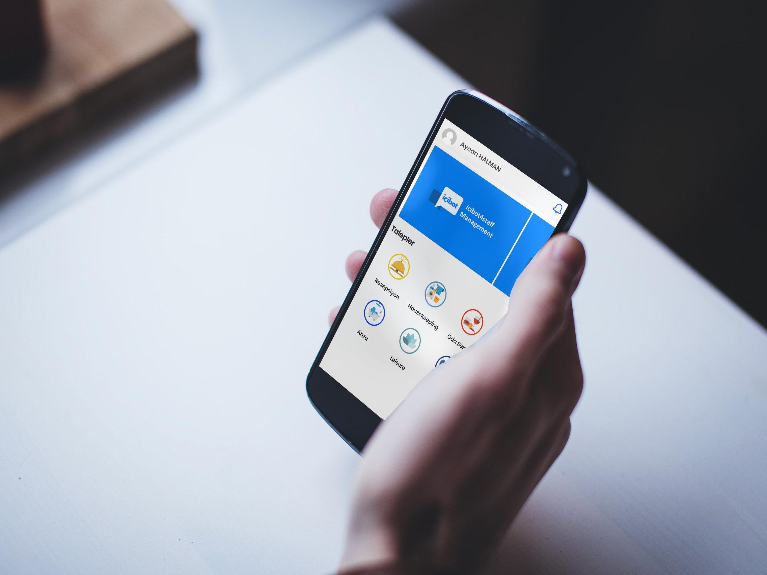 Şikayet Yönetim Sistemi mobil otel yönetim sistemi