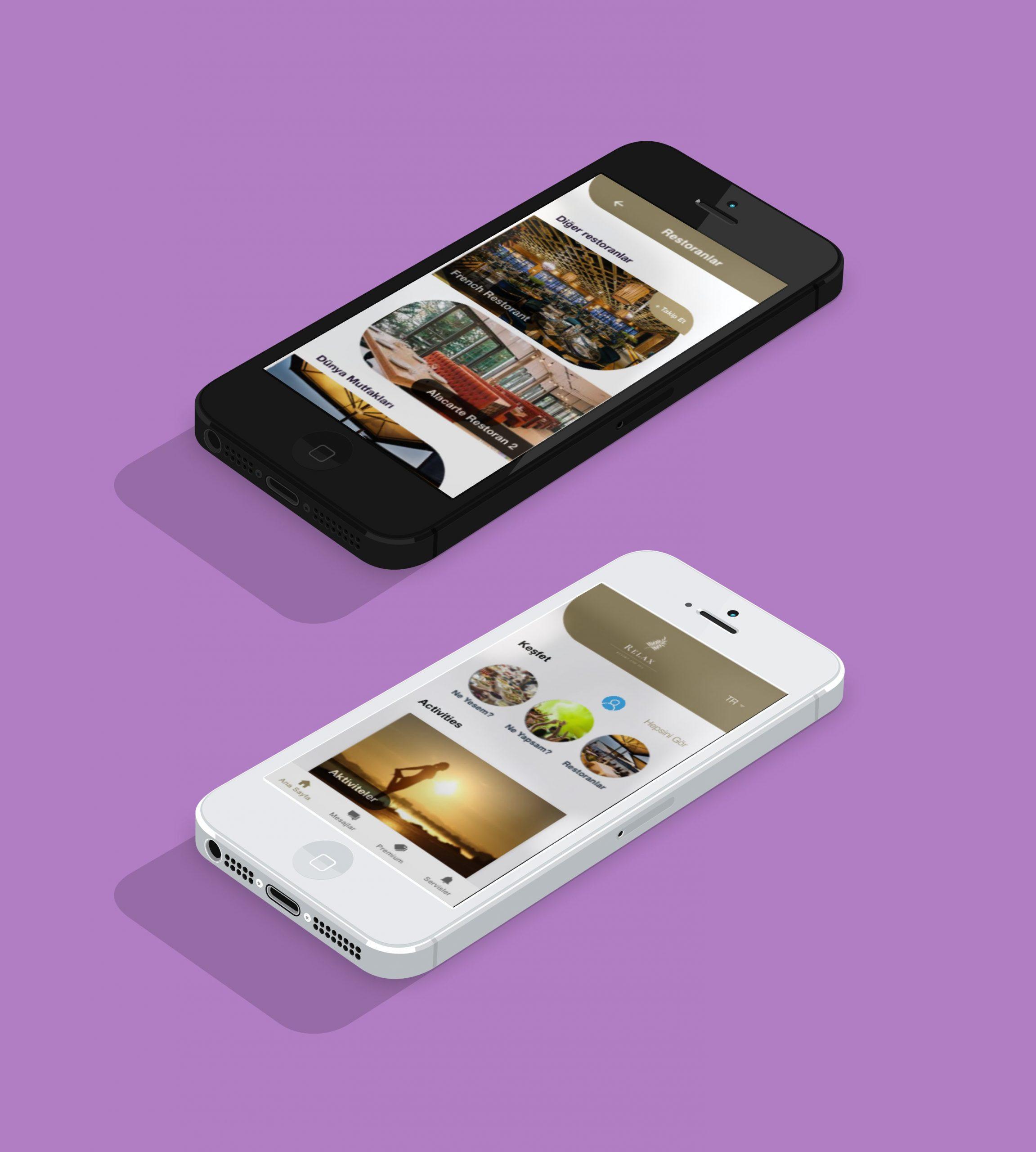 Takip Edilen Hizmetlere Göre Bildirim Alabilme mobil otel yönetim sistemi