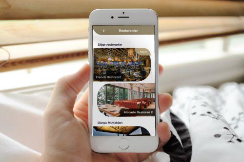 Premium Servisler mobil otel yönetim sistemi