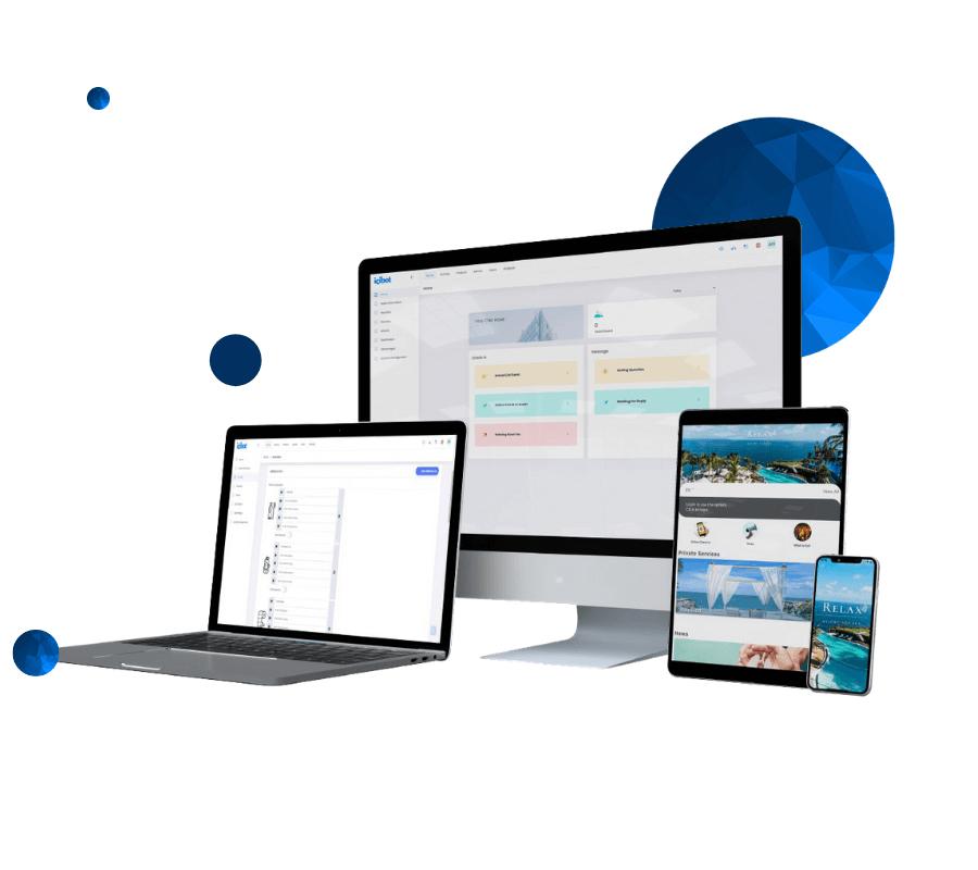 Homepage  mobil otel yönetim sistemi