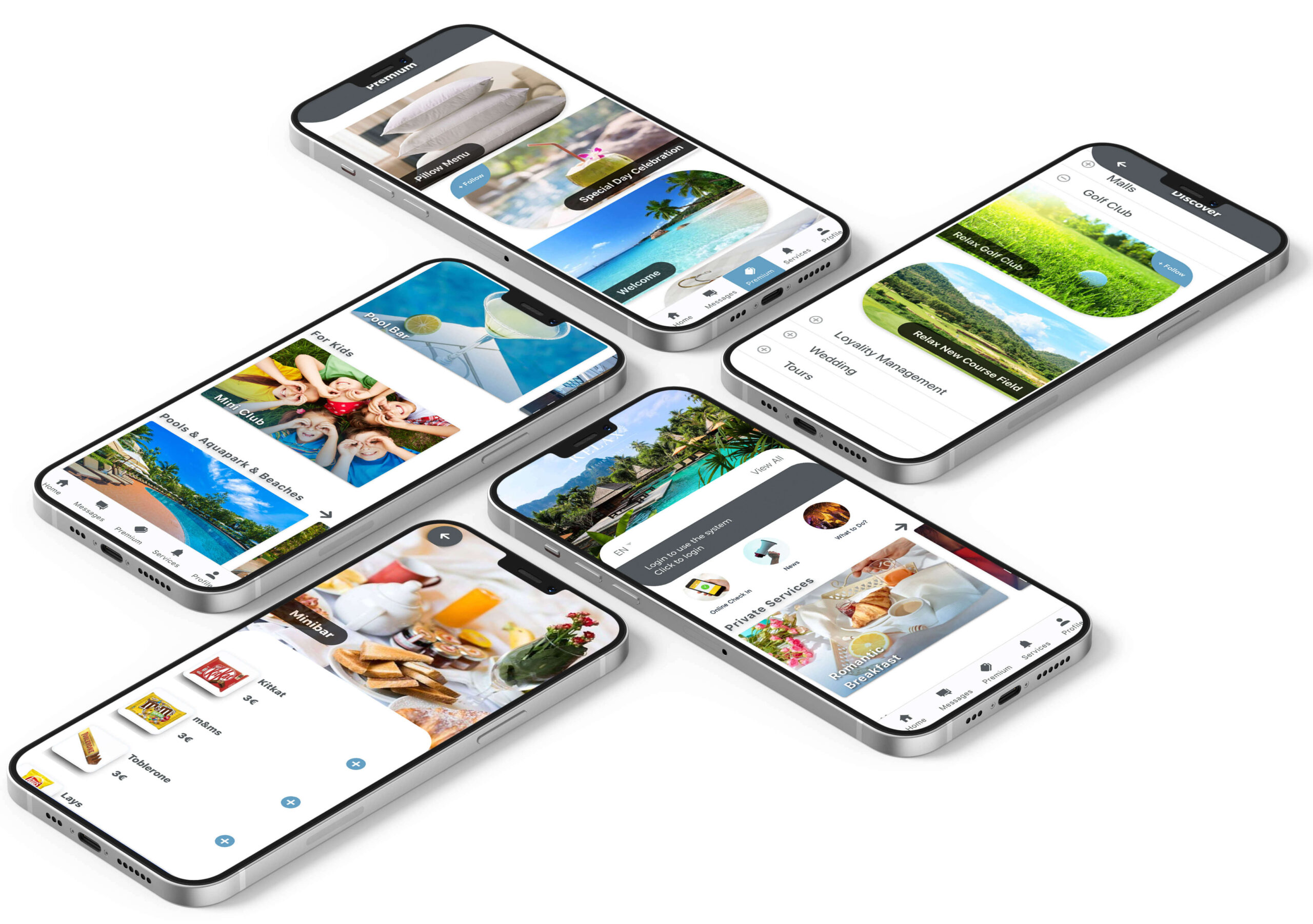 Teknolojimiz mobil otel yönetim sistemi