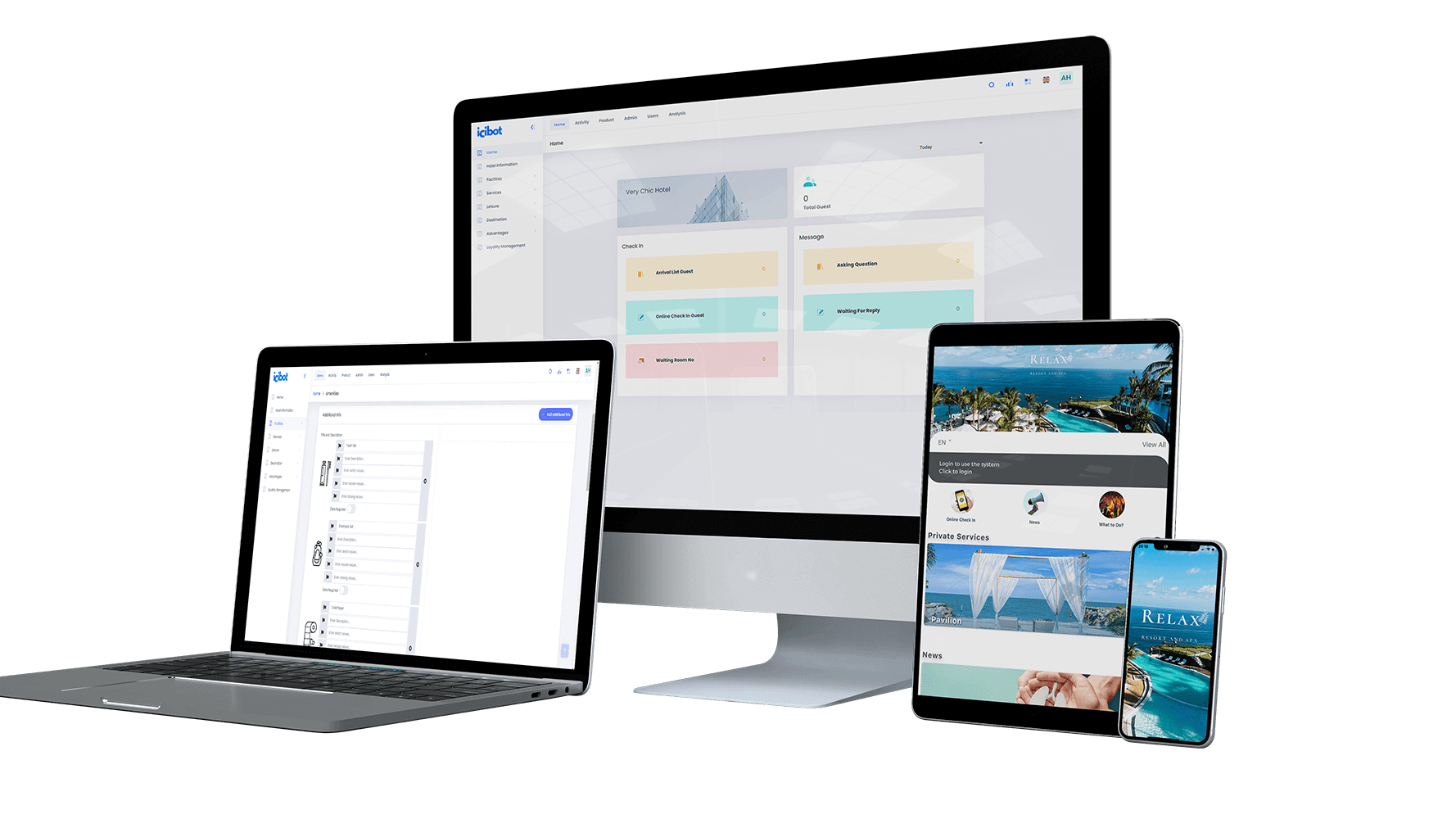 İleri Web Uygulaması mobil otel yönetim sistemi