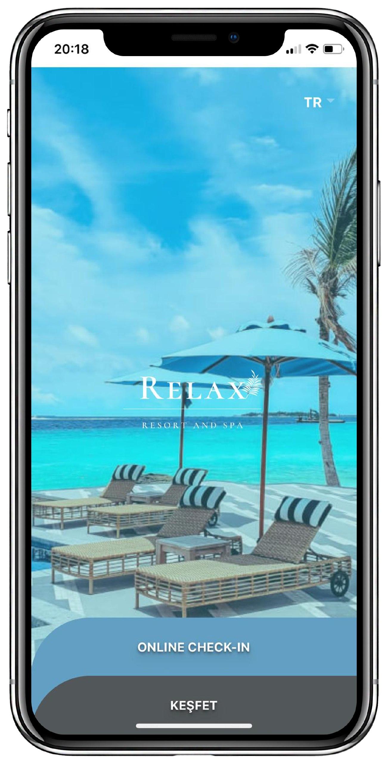 Mobil Otel Uygulaması mobil otel yönetim sistemi